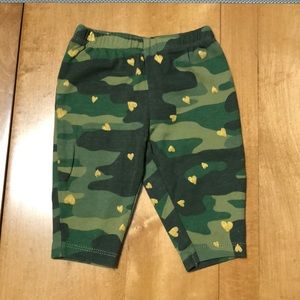 Army print leggings Carter's